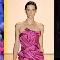 Модные цвета в одежде 2012